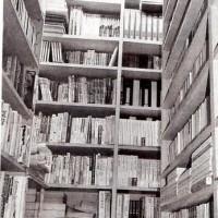 故大喝久夫さんの書庫の一部