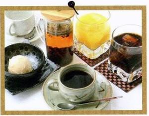 コーヒーや紅茶、アイス