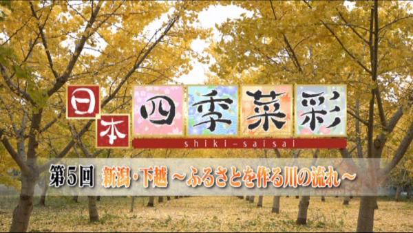 日本四季菜彩 村上の鮭を求めて