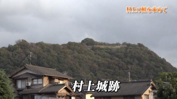 かつて上杉謙信との籠城戦が繰り広げられた村上城