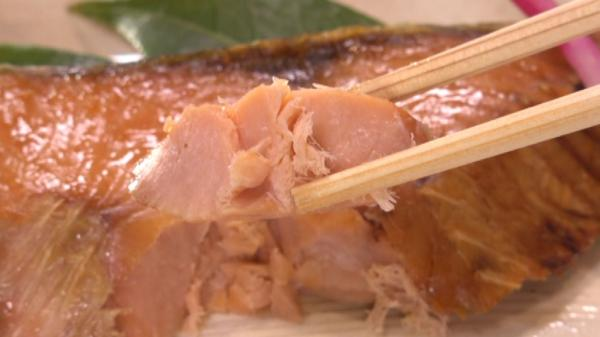 そうですね、食べてる中で塩引鮭の旨みとちょうどいい塩分
